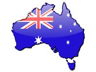 time to declare war Australia-flag-map