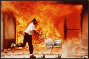 race riots LA